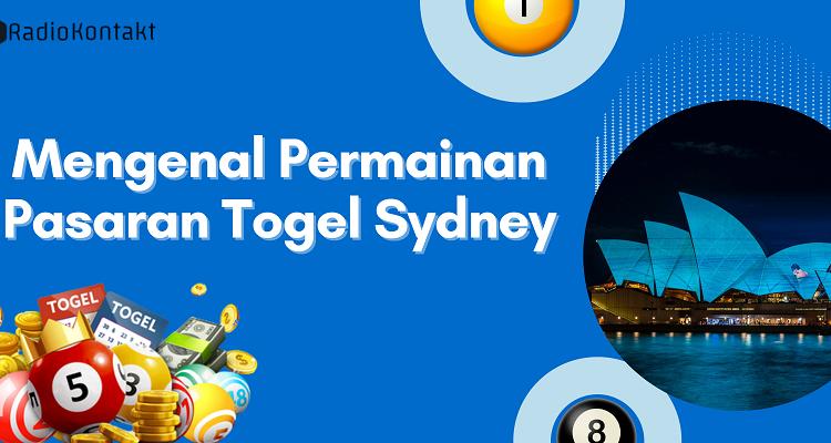 Banner Mengenal Permainan Pasaran Togel Sydney